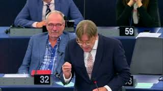 ANTI-EU MEPs - SCATHING RESPONSE TO JUNKER, VERHOFSTADT – RE: STATE OF UNION 16.09.2017