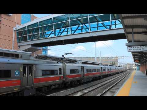 MNCR New Haven: Southbound Train at West Haven RR
