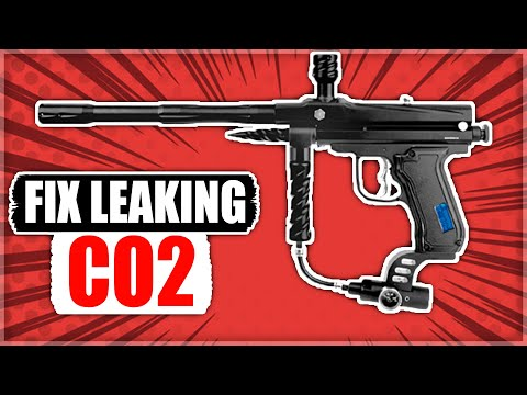 How to Fix CO2 Leaking Down Barrel on Paintball Gun