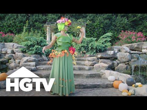 DIY Fall Goddess Costume - Way to Grow - HGTV