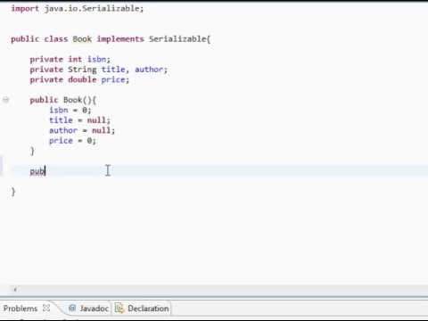 Java: Simple Library System (Part 1)