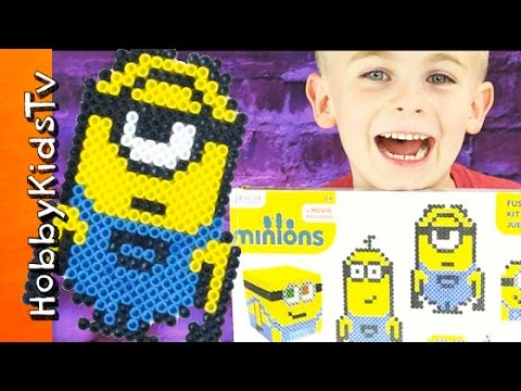 Minion FUSED Beads Toy Review