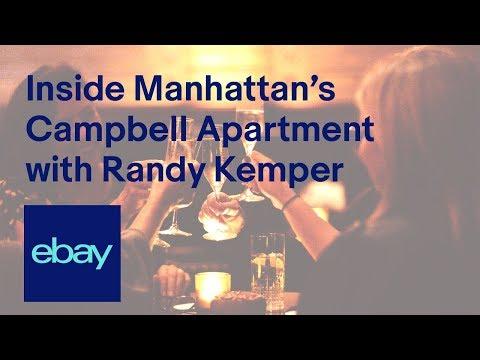 eBay | Inside Manhattan's Campbell Apartment with Randy Kemper