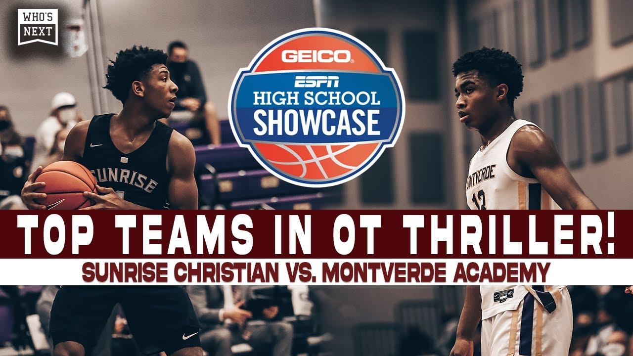 Sunrise Christian (KS) vs Montverde Academy (FL) - ESPN Broadcast Highlights