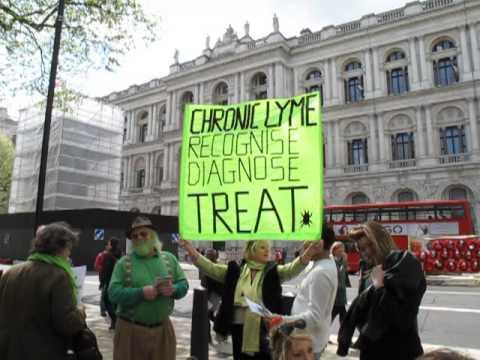UK WORLDWIDE LYME DISEASE PROTEST 10 MAY 2013 6
