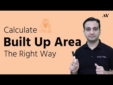 Built Up Area - Calculation, Formula & Concept