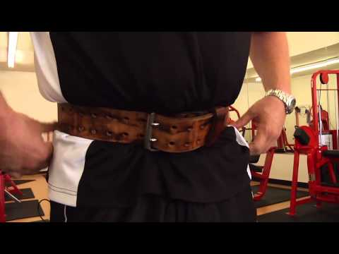 How to Use a Weight Belt for Bent-Over Rows