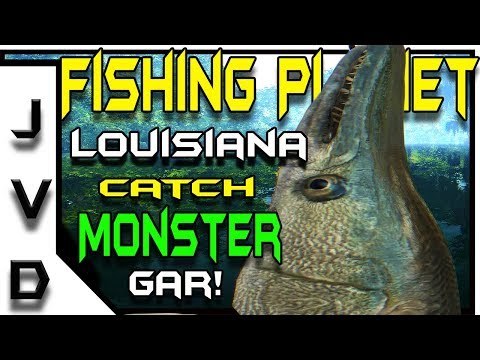 Fishing Planet Biggest Fish Species | Ep 28 | How to Catch Alligator Gar | Quanchkin Lake, Louisiana