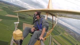 Man flies glider plane first introduced in 1938