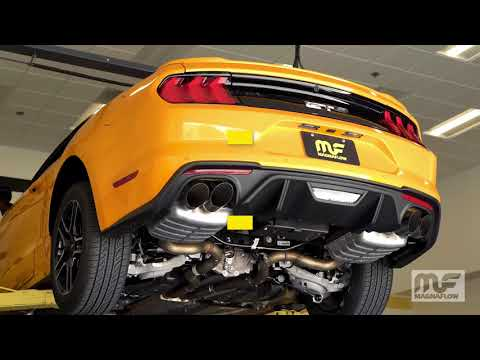 2018 Ford Mustang GT Performance Exhaust System Kit MagnaFlow Cat-Back 19368