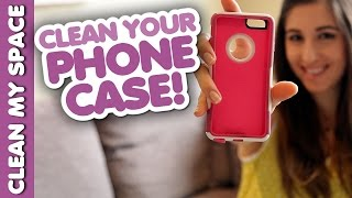 How To Clean A Phone Case Clean My Space