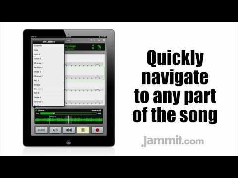 Jammit ipad iphone app Soundgarden Video Rusty Cage