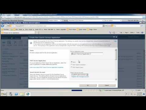 Configuring SharePoint 2010 to Search File Shares.wmv