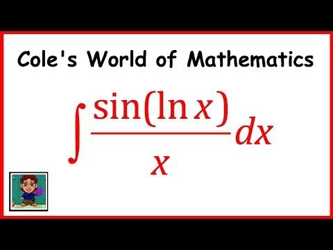 Integral of (sin(ln x))/x ❖ Calculus 1