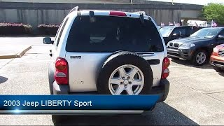 Download 2003 Jeep LIBERTY Sport New Orleans Gretna Metarie Kenner Harvey Video