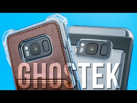 Ghostek Exec Series and Cloak 2 Series Cases for Samsung S8/S8+ - Review