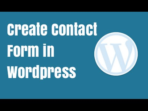Best Free Wordpress Contact Form Plugin - Ninja Forms Tutorial