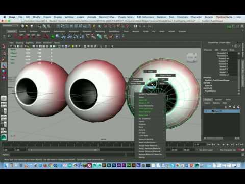 Maya 2014 - Rigging Cartoon Eye