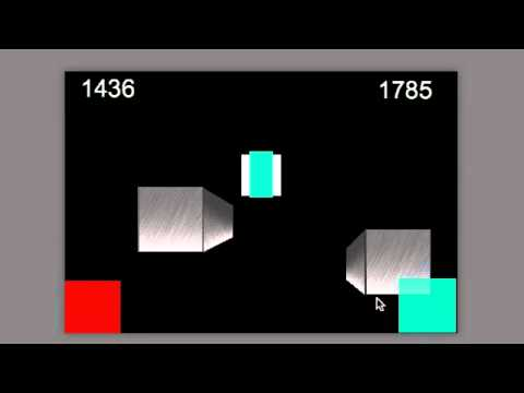 GameSalad Endless Runner example with 3d blocks by Stormy Studio