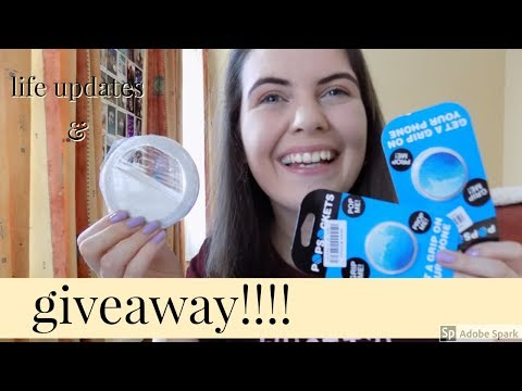 500 SUBSCRIBER GIVEAWAY & LIFE UPDATES