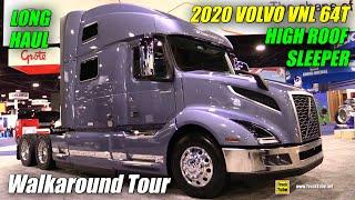 2018 Volvo Vnl 860 77inch High Roof Long Haul Sleeper - Walkaround - 2017 Nacv Show Atlanta