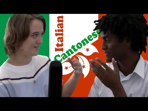 Let's try Italian and Cantonese: Language Challenge Part 2