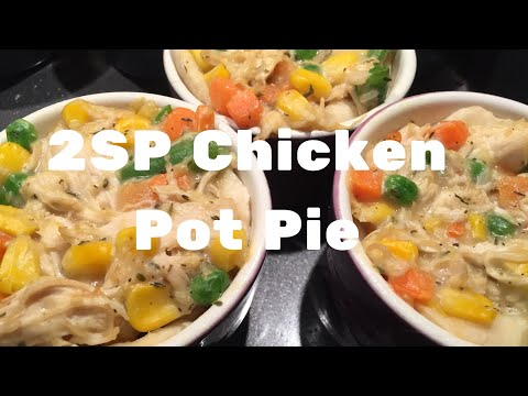 Weight Watchers Freestyle - Cook With Me - 2 Smart Point Chicken Pot Pie - Using 2 Ingredient Dough