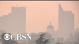 "More than 20 California cities listed as having ""unhealthy air"""
