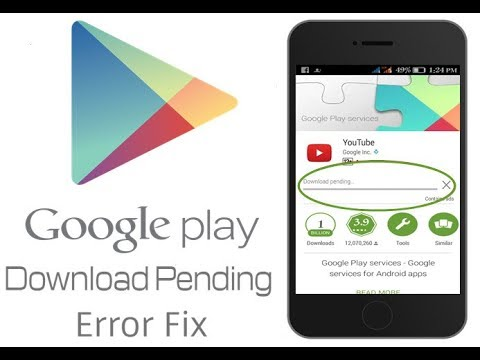 pending download play store