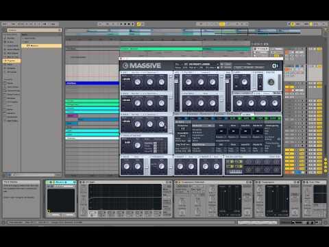 Gliding Bass Sound - NI Massive - Sound Design (e.g. Chillstep, Dubstep, RnB, HipHop, Trap)