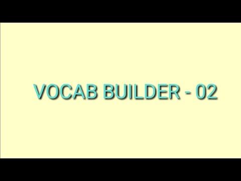 VOCAB BUILDER-02