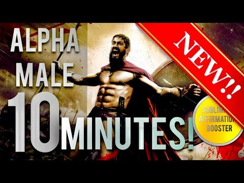 🎧 BECOME THE ULTIMATE ALPHA MALE IN 10 MINUTES! SUBLIMINAL AFFIRMATIONS BOOSTER! REAL RESULTS DAILY!