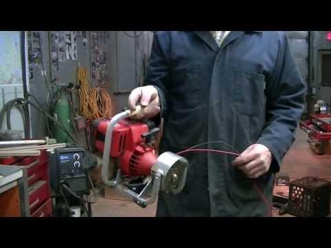 homemade weedeater 12v mini generator