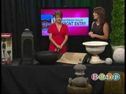 TAM STONE shares her design tips for Re-Freshing Your Front Entry (BETTER KC SHOW)
