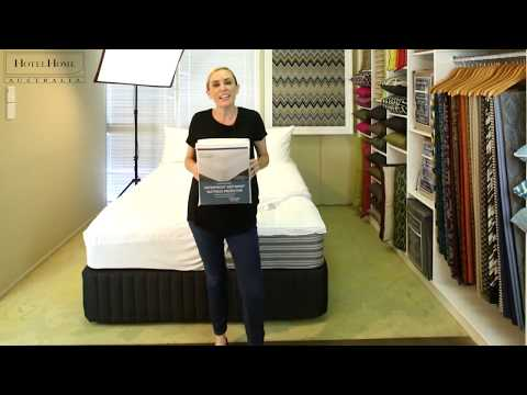 The 'Hot Wash' Waterproof Mattress Protector by HotelHome