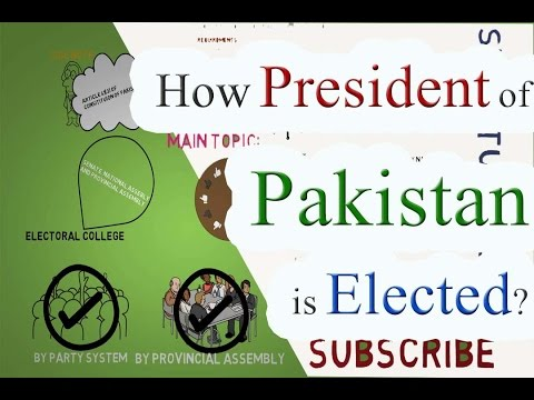 How President of Pakistan Elected  URDU