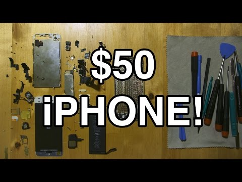 $50 IPHONE! BUILD ONE YOURSELF!