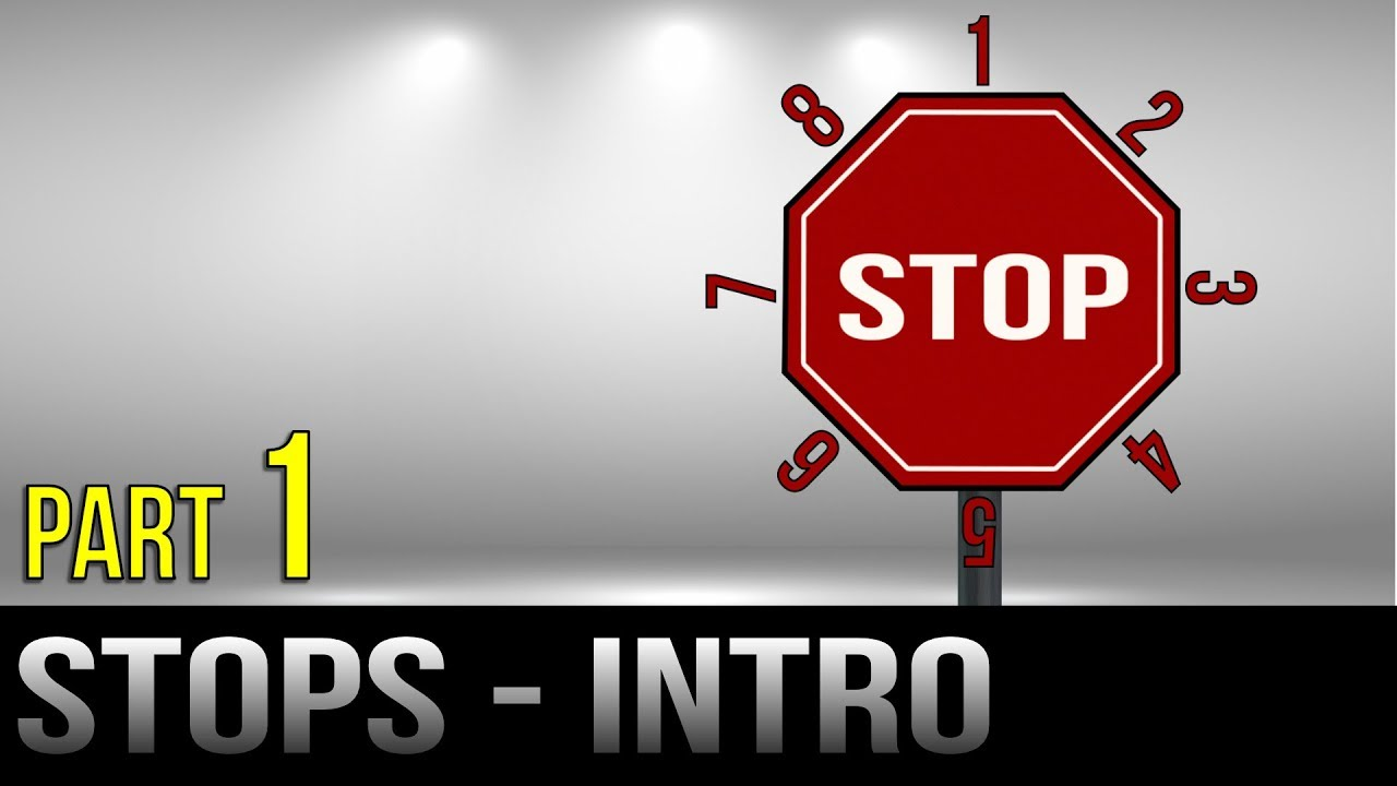 Stop Signs – Part 1 – Introduction