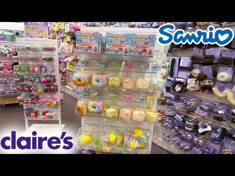 NEW SUPER SLOW RISING SANRIO HELLO KITTY FOOD SQUISHIES AT CLAIRE'S!
