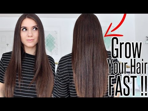 How To REALLY Grow LONG HAIR FAST & NATURALLY!