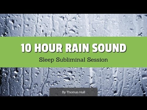 Escape Your Fear of Rejection & Failure - (10 Hour) Rain Sound - Sleep Subliminal - By Thomas Hall