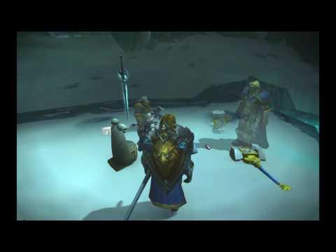 Arthas encontra a Gélido Lamento (Frostmourne) - Dublado PT BR
