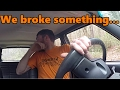 WE MESSED UP THE JEEP!