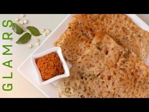 इंस्टेंट ओट्स डोसा - Healthy Oats Dosa Recipe in Hindi | Instant Breakfast Recipes | पौष्टिक डोसा