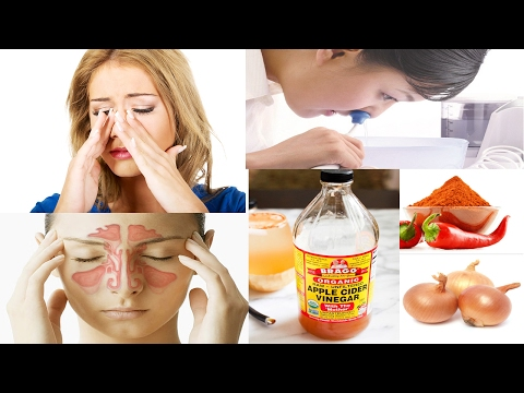 Home Remedy for Sinus Infection || How to Cure Sinus infection Naturally