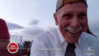 Grandpa Films Himself Instead Of Proposal | The View