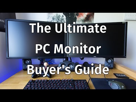 The Ultimate PC Monitor Buyer's Guide