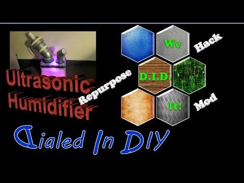 Make an Ultrasonic Humidifier