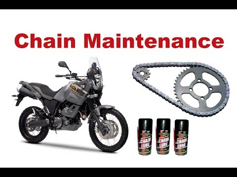 Motorcycle Chain Maintenance - What Should I do?