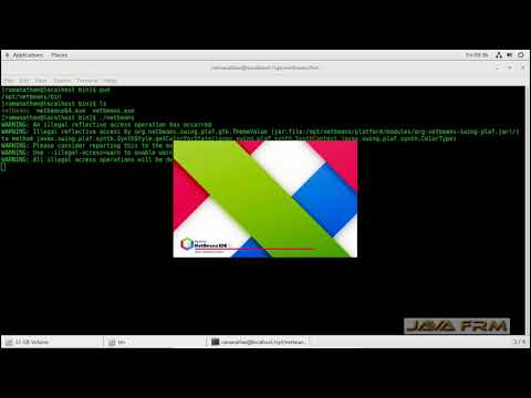 Apache NetBeans 10 Installation on Oracle Linux 7 and Java 11 Modular Programming
